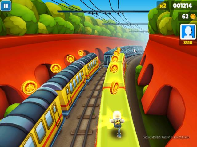 subway surfers play the game
